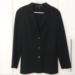 Linda Allard Ellen Tracy 100% Wool Crepe Blazer